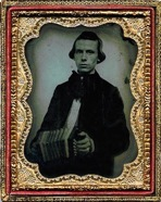 Anglo Concertina Player, c. Late 1850s